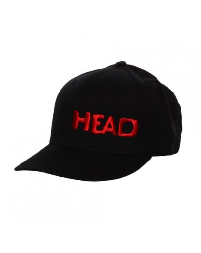 Head Black & Red Hat