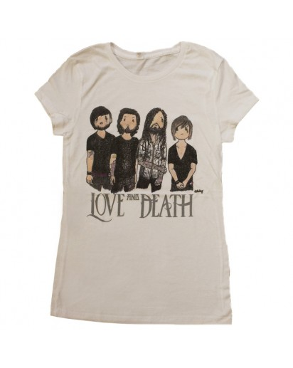 Love and Death Cartoon T-Shirt