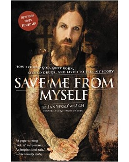 "Autographed Brian ""Head"" Welch, Save Me From Myself Book (Paperback)"