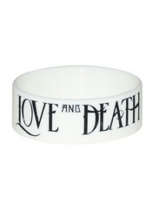 "Love and Death 1"" Bracelet (White)"