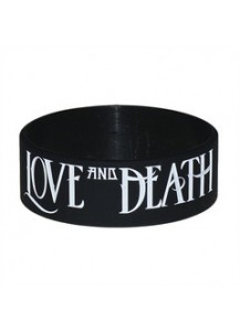 "Love and Death 1"" Bracelet (Black)"