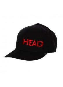 Head Black & Red Hat